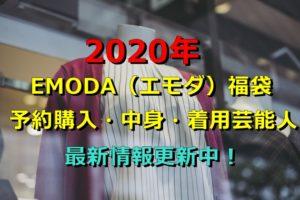 2020年 エモダ 福袋 予約購入 中身 着用芸能人 最新
